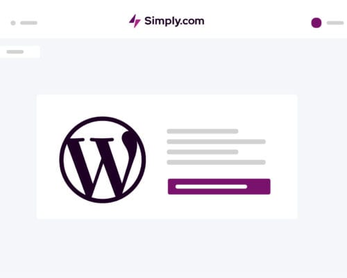 simply wordpress one click