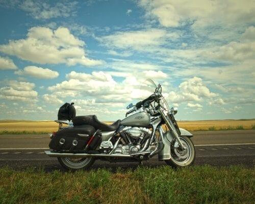 motorcykel-grå